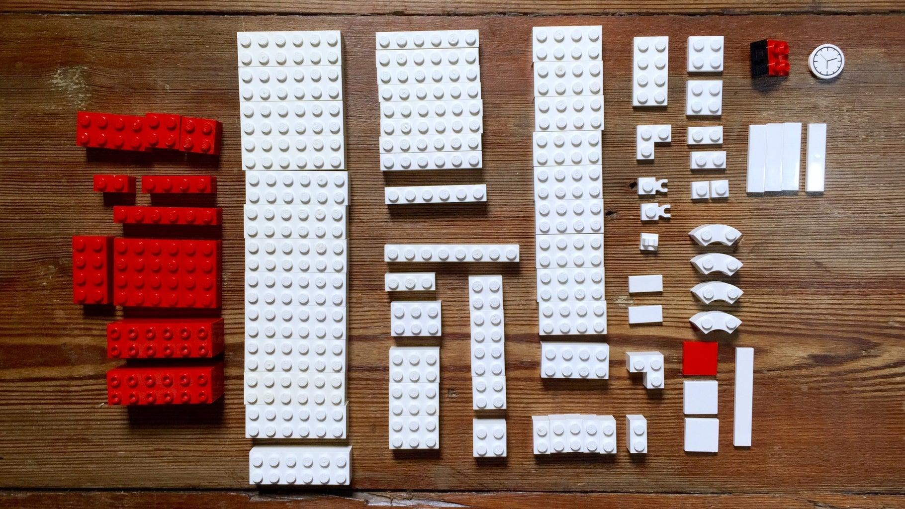 Gather the Lego Bricks.