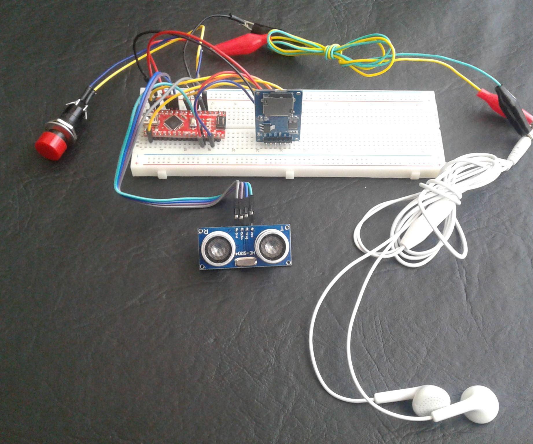 Arduino Voiced White Cane (Part One)