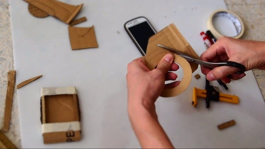 Cardboard Ring & Rope