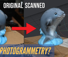 3D Scan Using Photogrammetry