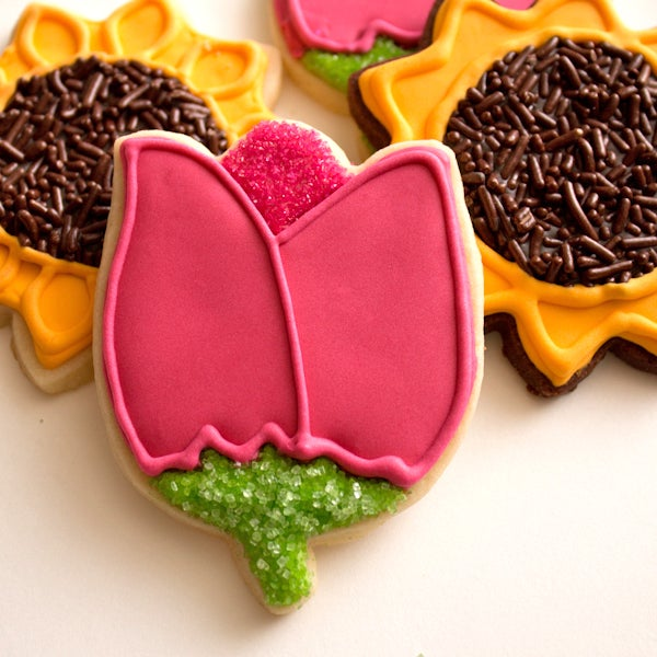 How to Make Easy Flower Cookies
