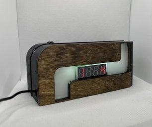 3D Printed LED Clock