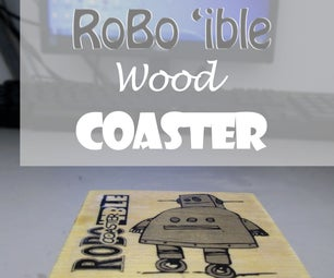 Simple Palette Wood Coaster With Photo-transfer Design
