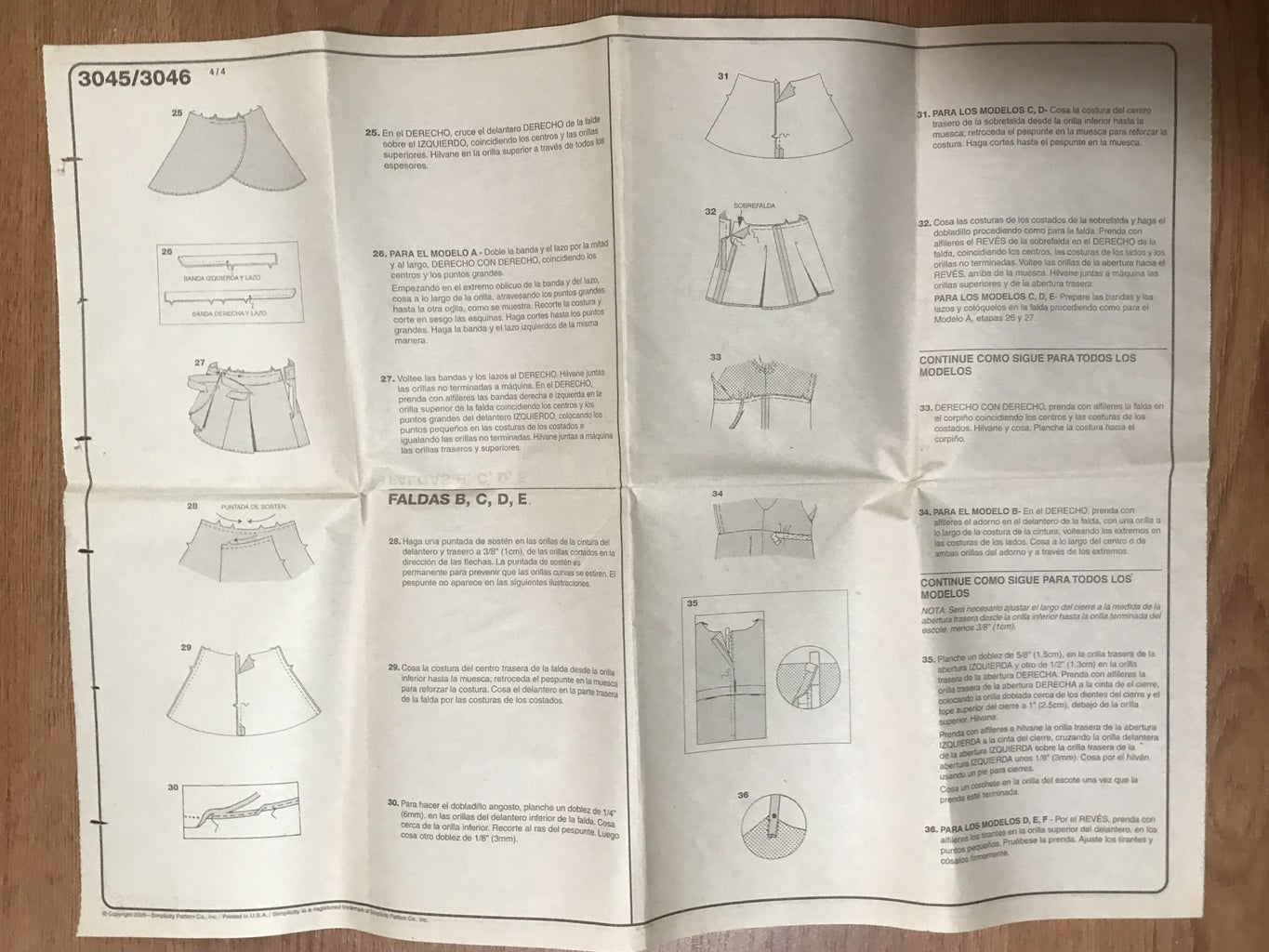 Using the Pattern to Cut Out Your Fabric