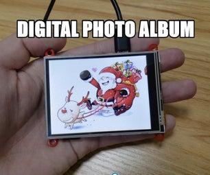 Make a Digital Photo Album by ESP32