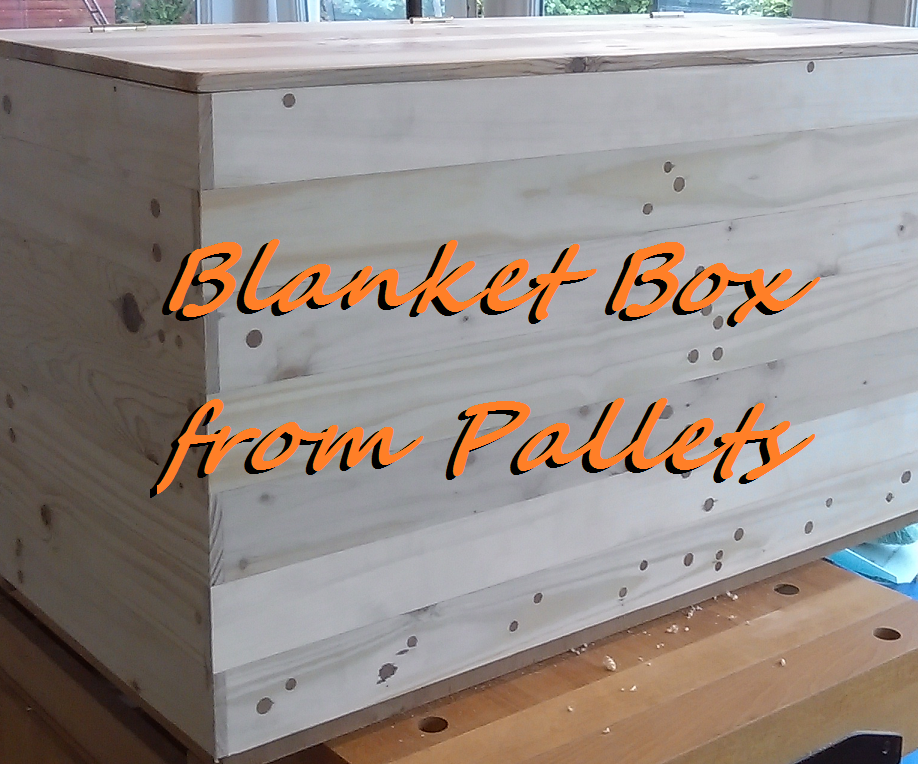 Make a Blanket Box From Pallets