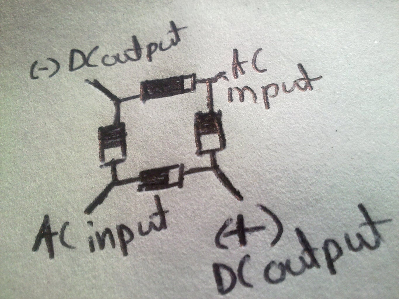 The Diagram of the Circuit