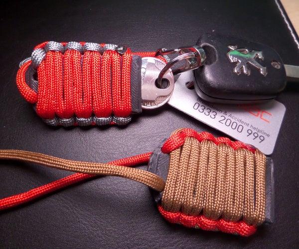 Paracord & 3D Printed Key Protector