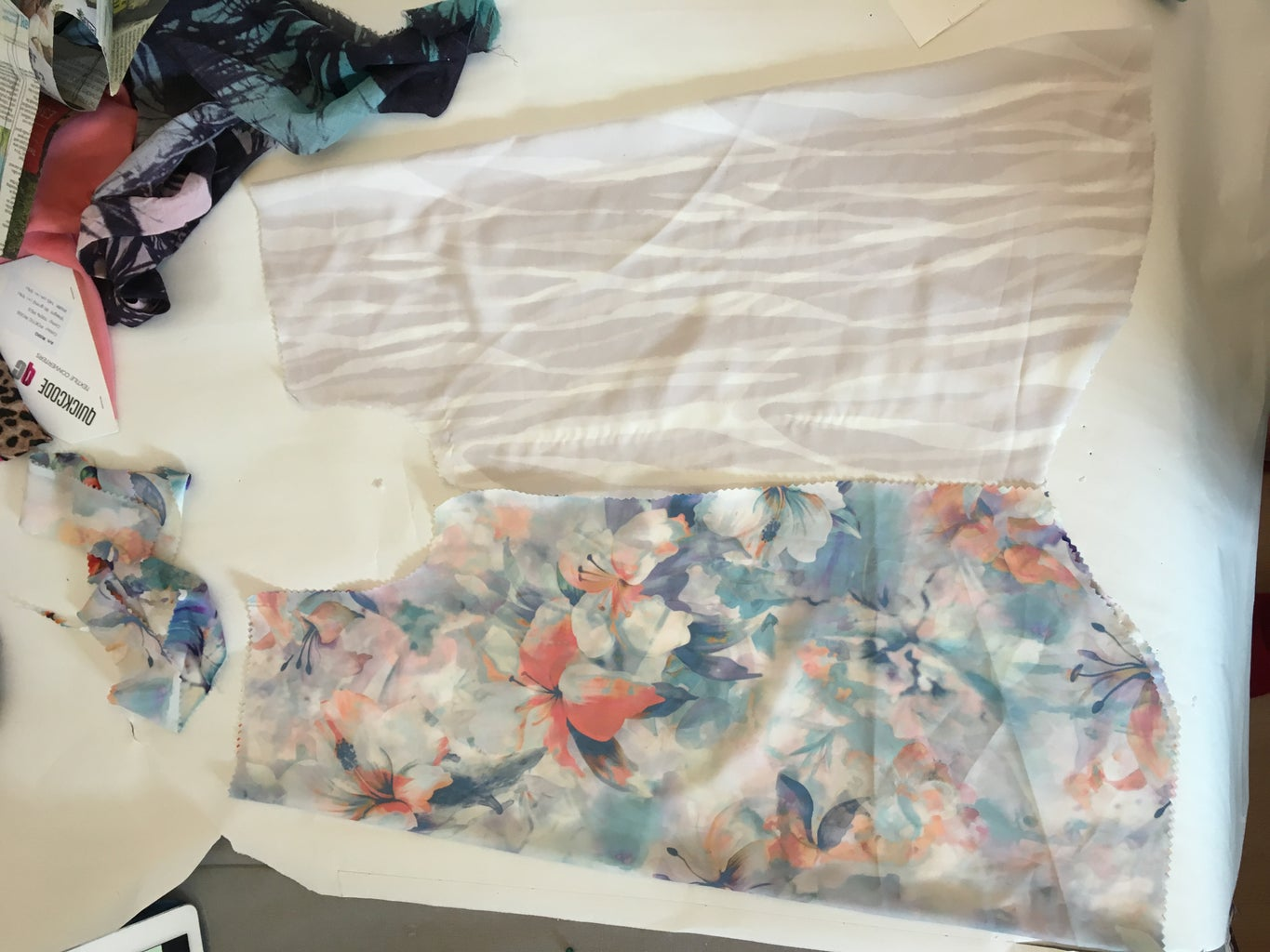 Sewing the Top Together