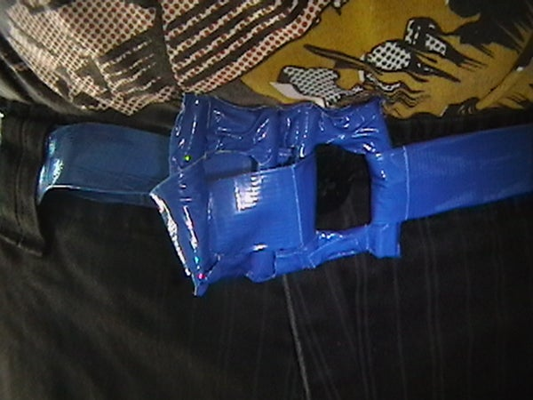 100% Pure Duct Tape Belt!