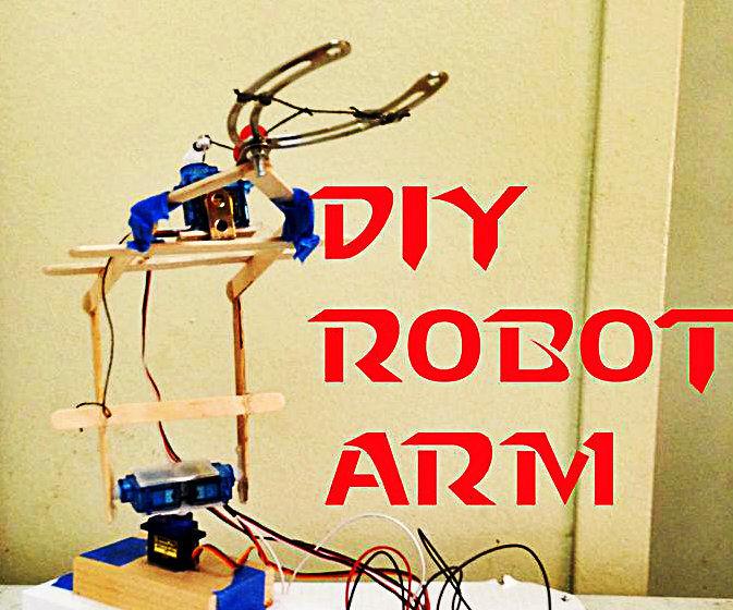 DIY Arduino Robotic Arm