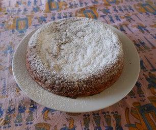 Almonds and Bananas Cake
