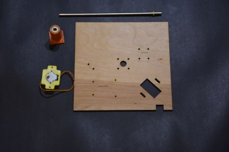 Assemble the Middle Plate and Wire the Clock