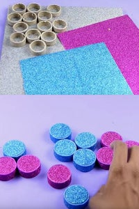 Let's Cover the Ring Using Glitter Sheet!