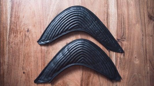 Leather Ribbing