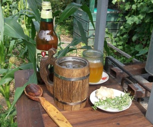 Hot Beer With Honey and Ginger to Remedy Your Flu or Cold
