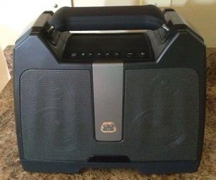 Battery Mod a Portable Bluetooth Speaker