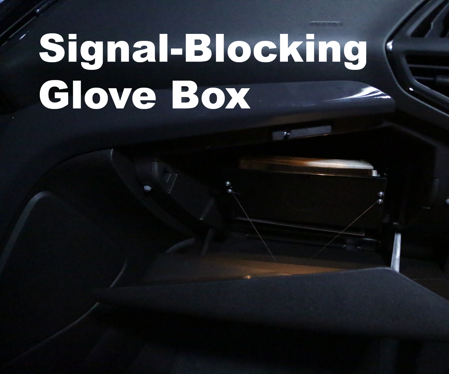 Signal-Blocking Glove Box
