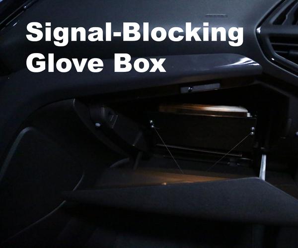 Signal-Blocking Glove Box
