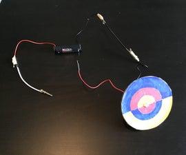 电机供电的颜色混合轮