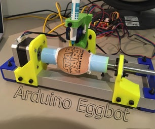 Arduino Based Egg Plotter