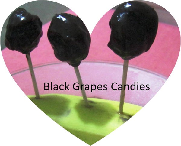 Refreshing Purple  Grapes Candies