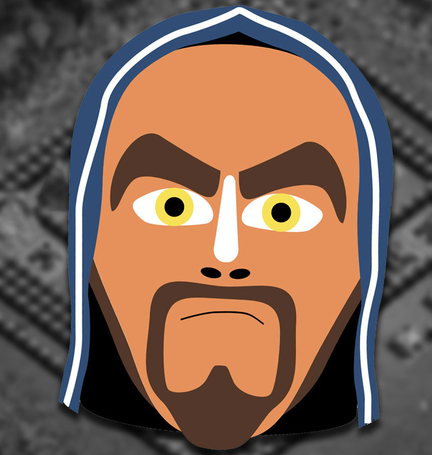 Clash of Clans - Wizard - Mask