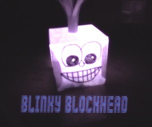 Blinky Blockhead (beginner Arduino Project)
