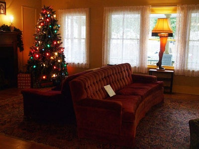 A Christmas Story Leg Lamp Mug