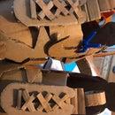 Cardboard Nike Craft Sneakers