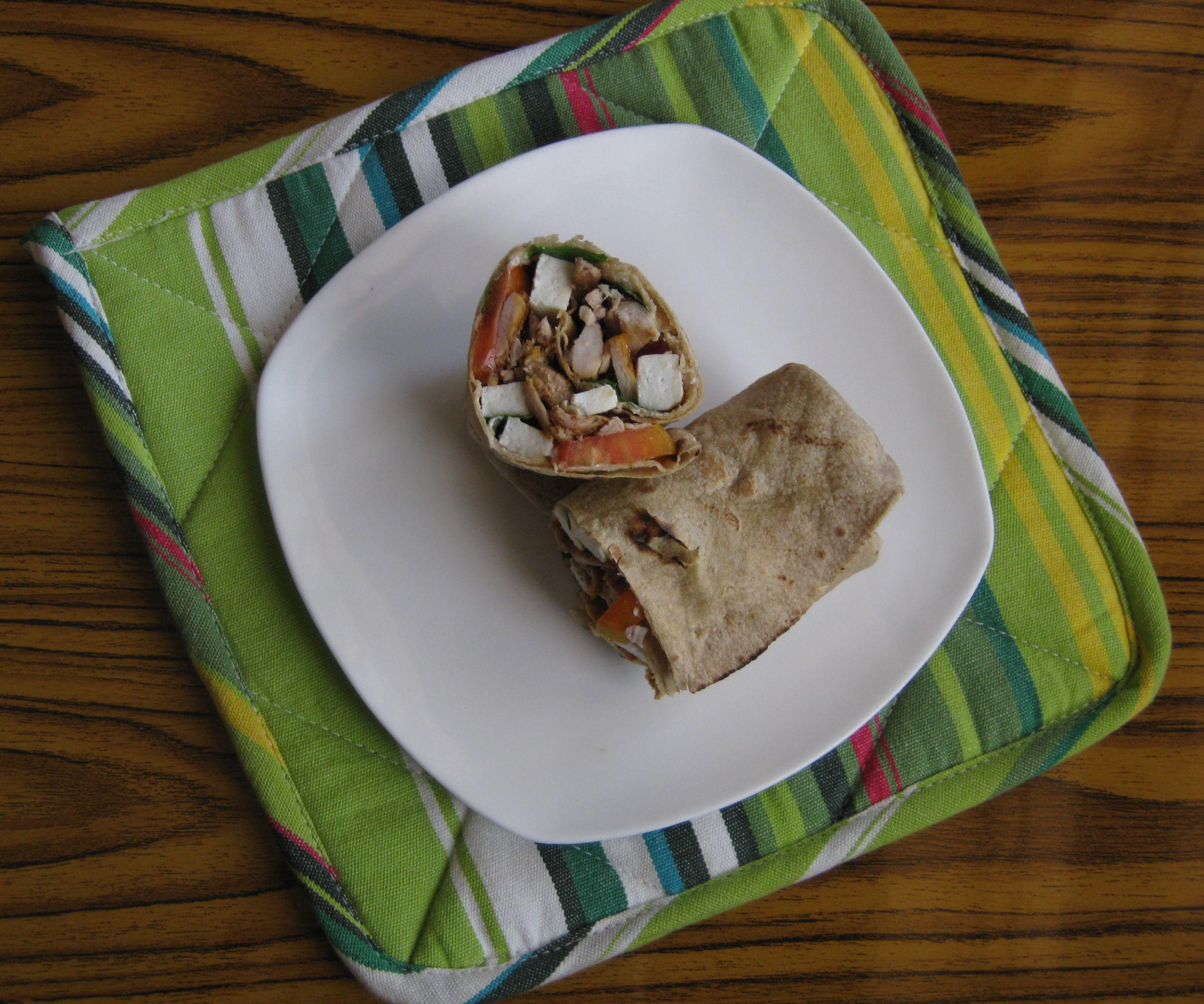 Healthy sandwich wraps, whole grain (chapatti Pakistani innovation)