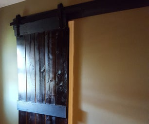 Barn Door for Our Master Bath