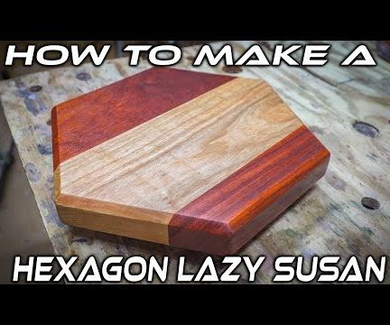 Hexagonal Shaped Lazy Susan/ Turntable