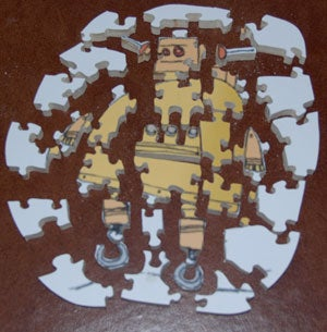 """Making a Homemade Puzzle, or """"Why I Love My Jigsaw"""""""