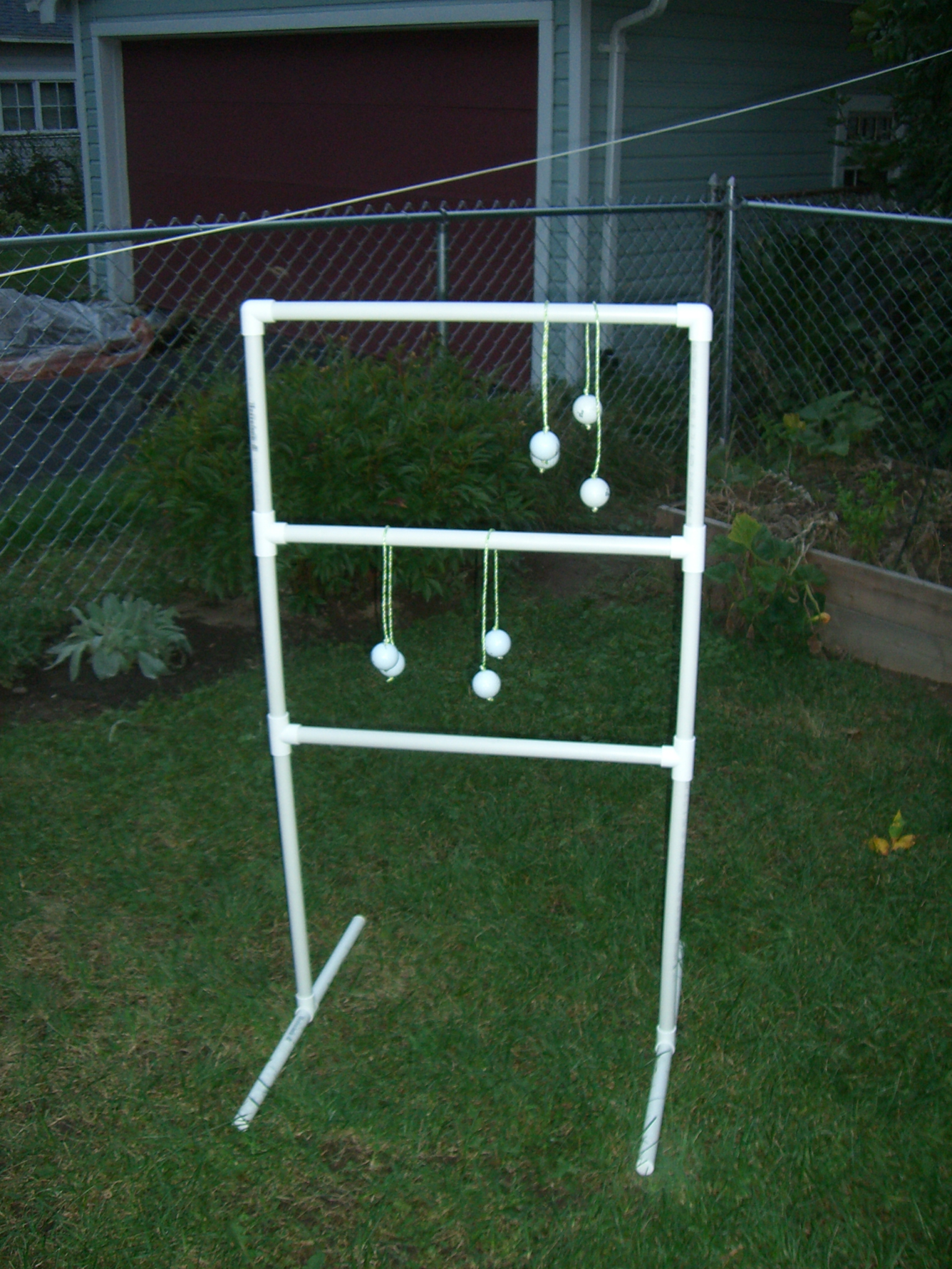 Ladder Golf Pvc Camping Game 4 Steps Instructables