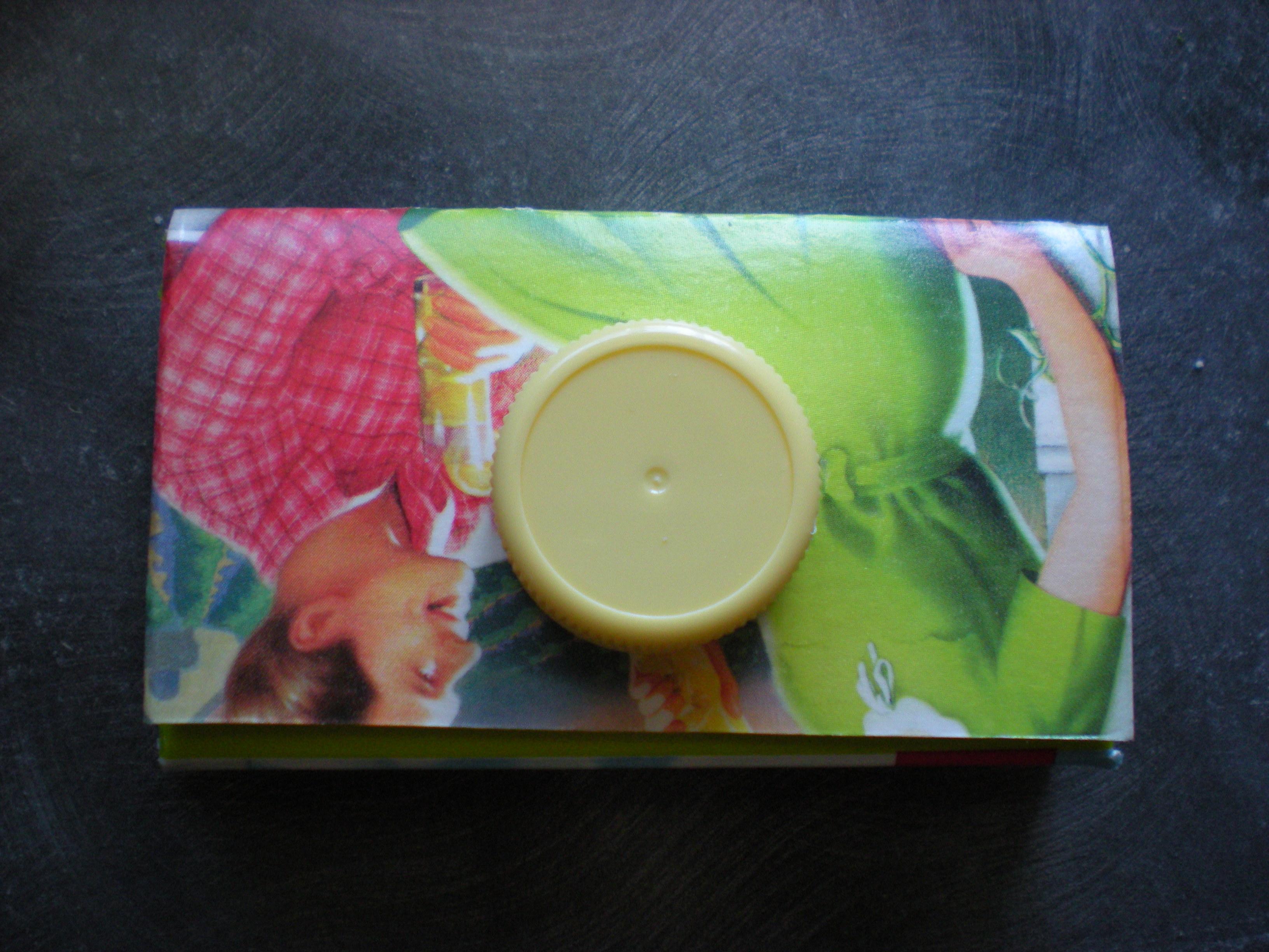 How to make a juice carton coin purse