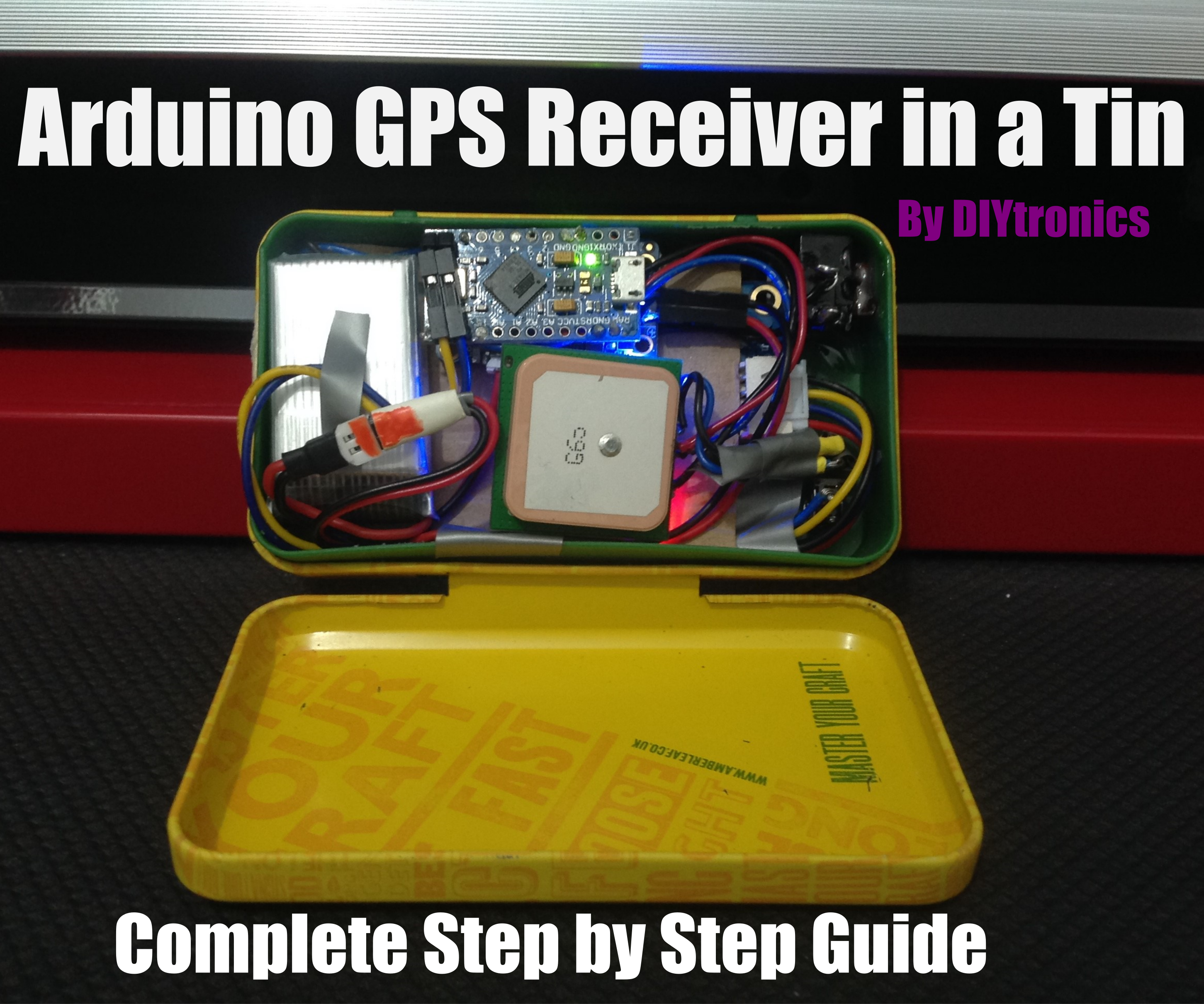 Arduino GPS Reciever In a Tin