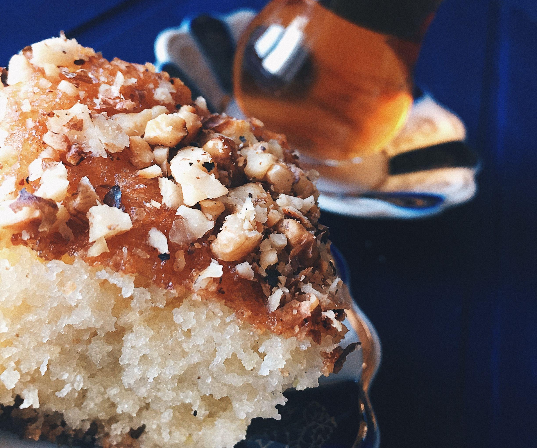 Arabian Delight Basbusa (semolina Cake)