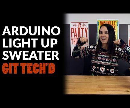 Arduino Light Up Sweater