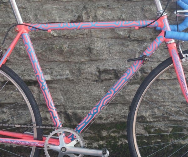 Turing Pattern Bike Paint Job