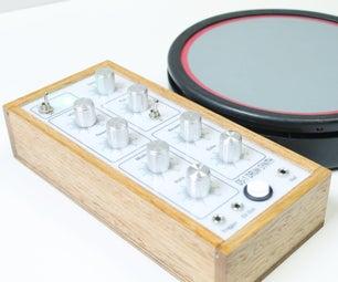 带PS2鼓垫的鼓合成器(DS-8)
