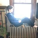 Cozy Felt Radiator Chair