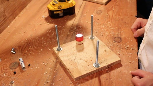 Drilling the Hole for the Light Source