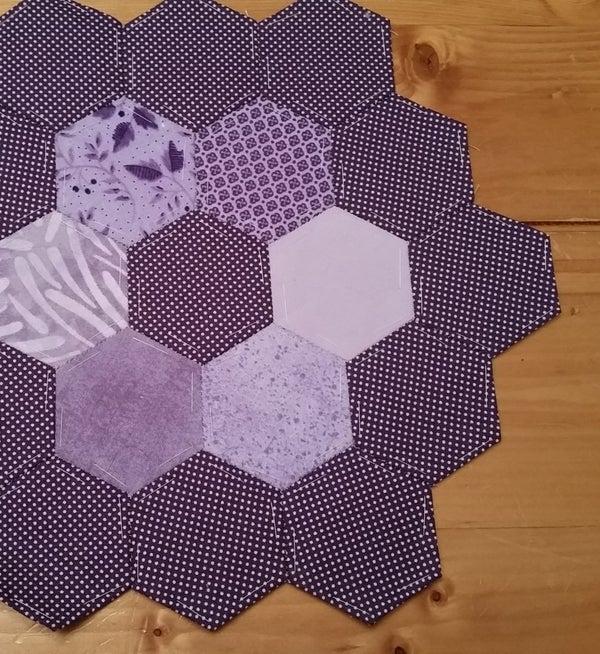 Hexagon English Paper Hand Piecing