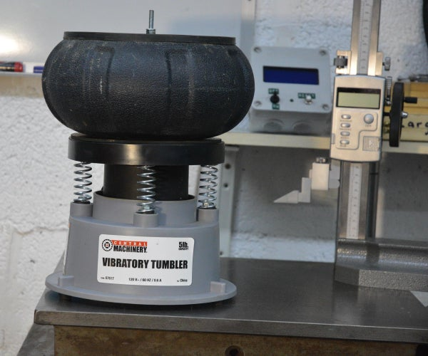 Fixing a Harbor Freight Vibratory Tumbler