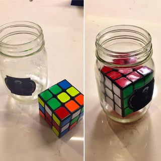 How to Put a Rubik's Cube in a Bottle!