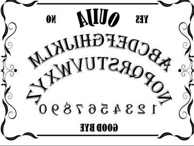 Making the Ouija Board - Design