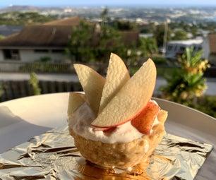Apple Pie Ice Cream (Homemade Ice Cream No Machine)