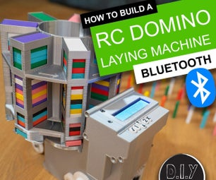 RC Arduino Domino图层与蓝牙应用控件