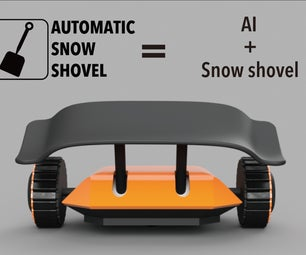 AUTOMATIC SNOW SHOVEL